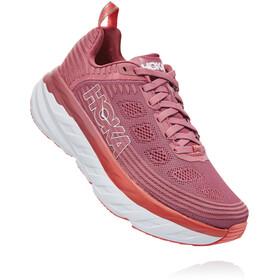 Hoka One One Bondi 6 Running Shoes Dame heather rose/lantana